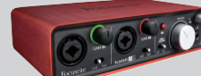 FOCUSRITE SCARLETT INTERFACES