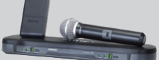 SHURE PG WIRELESS MICROPHONES