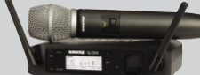 SHURE SM DIGITAL WIRELESS MICROPHONES